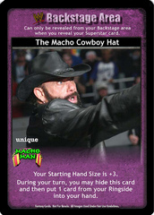 The Macho Cowboy Hat