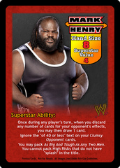Mark Henry Superstar Card
