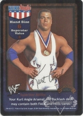 Kurt Angle Superstar Card - SS1