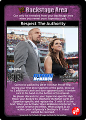 Respect The Authority