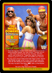 The Mega Powers Superstar Card