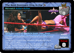 The Most Dominant Diva in the WWE