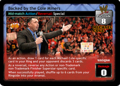 Backed by the Cole Miners