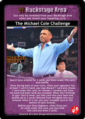The Michael Cole Challenge