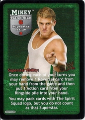Mikey Superstar Card