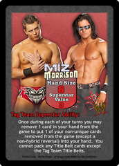 Miz & Morrison Superstar Card