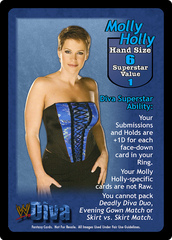 Molly Holly Superstar Card
