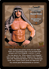 Muhammad Hassan Superstar Card
