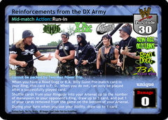 Reinforcements from the DX Army