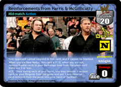 Reinforcements from Harris & McGillicutty