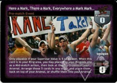 Here a Mark, There a Mark, Everywhere a Mark Mark...