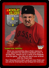 Nikolai Volkoff Superstar Card