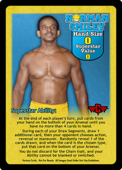 Norman Smiley Superstar Card