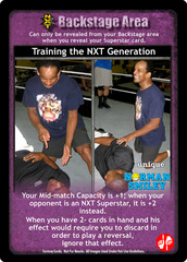 Training the NXT Generation