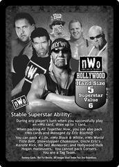 nWo Hollywood Superstar Card