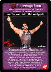 Macho Man Joins the Wolfpack