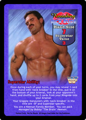 Ravishing Rick Rude Superstar Card