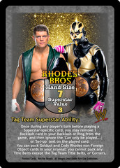 Rhodes Brothers Superstar Card