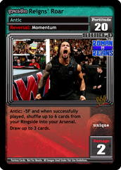 <i>Revolution</i> Reigns' Roar