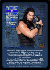 Roman Reigns Superstar Card - VSS (1)