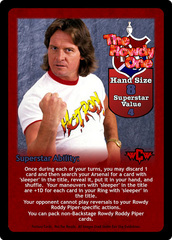 The Rowdy One Superstar Card