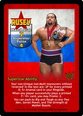 Rusev Superstar Card