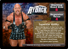 <i>Revolution</i> Ryback Superstar Card