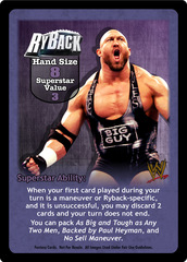 Ryback Superstar Card
