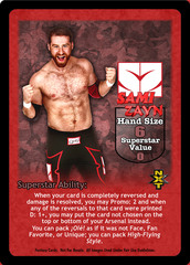 Sami Zayn Superstar Card
