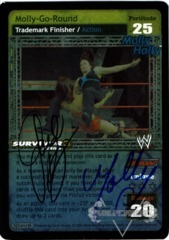 Molly-Go-Round - SS3 - Signed by Gail Kim & Molly Holly