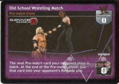 Old School Wrestling Match