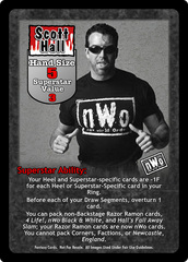 Scott Hall Superstar Card