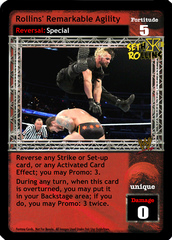 Rollins' Remarkable Agility