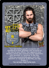 Seth Rollins Superstar Card - VSS (1)