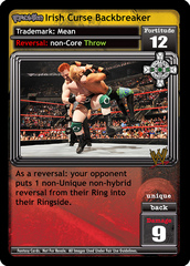 <i>Revolution</i> Irish Curse Backbreaker