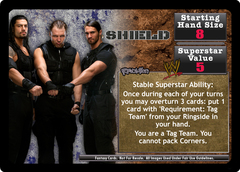 <i>Revolution</i> Shield Superstar Card