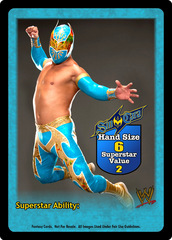 Sin Cara Superstar Card