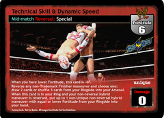 Technical Skill & Dynamic Speed