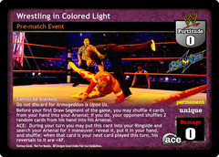 Wrestling in Colored Light