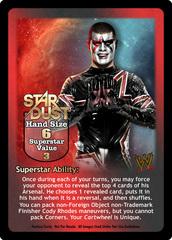 Stardust Superstar Card