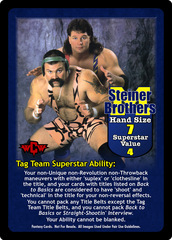 Steiner Brothers Superstar Card