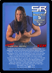 Stevie Richards Superstar Card
