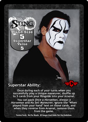 Sting Superstar Card