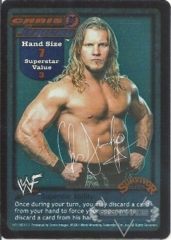 Chris Jericho Superstar Card - SS1