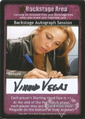 Backstage Autograph Session - Vinnie Vegas