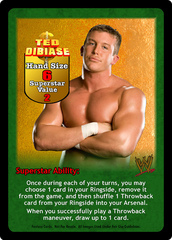 Ted DiBiase Superstar Card