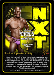 Titus O'Neil Superstar Card