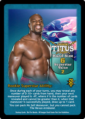 Titus O'Neil Superstar Card - VSS