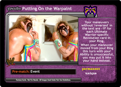 <i>Revolution</i> Putting On the Warpaint