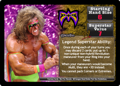 <i>Revolution</i> The Ultimate Warrior Superstar Card